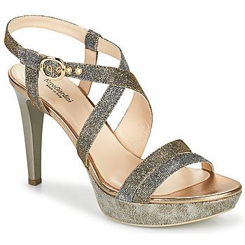 鞋子 女士 凉鞋 Nero Giardini KARKI 灰色 / 金色