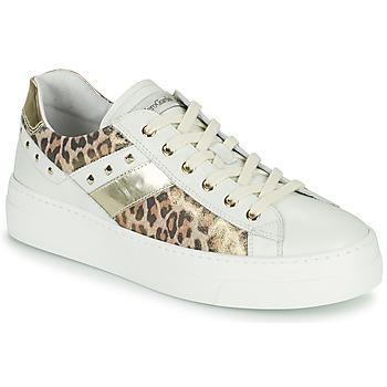 鞋子 女士 球鞋基本款 Nero Giardini MANO 白色 / Leopard