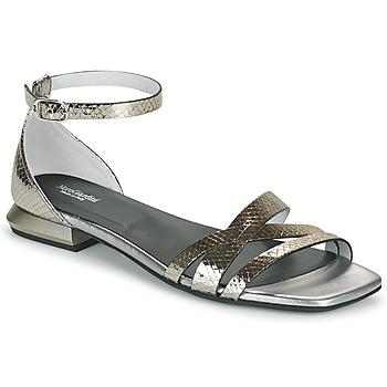 鞋子 女士 凉鞋 Nero Giardini TOMMA 银灰色