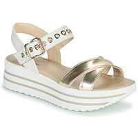 鞋子 女士 凉鞋 Nero Giardini TIMMA 白色 / 金色