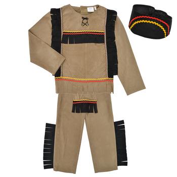 衣服 男孩 角色扮演 Fun Costumes COSTUME ENFANT INDIEN BIG BEAR 多彩
