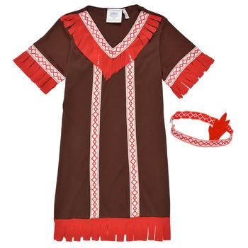 衣服 女孩 角色扮演 Fun Costumes COSTUME ENFANT INDIENNE FOX KITTEN 多彩