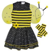 衣服 女孩 角色扮演 Fun Costumes COSTUME ENFANT BEE BEE 多彩