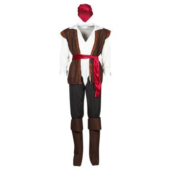 衣服 男士 角色扮演 Fun Costumes COSTUME ADULTE PIRATE THUNDER 多彩