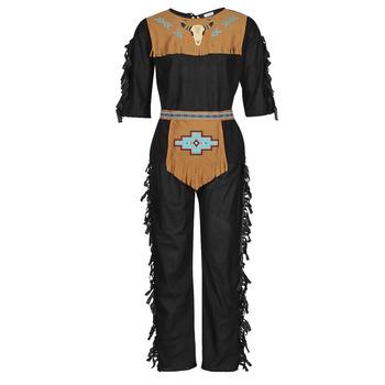衣服 男士 角色扮演 Fun Costumes COSTUME ADULTE INDIEN NOBLE WOLF 多彩