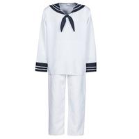 衣服 男士 角色扮演 Fun Costumes COSTUME ADULTE MARIN BLANC 白色