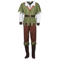 衣服 男士 角色扮演 Fun Costumes COSTUME ADULTE FOREST HUNTER 多彩