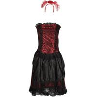 衣服 女士 角色扮演 Fun Costumes COSTUME ADULTE SALOON GIRL 多彩