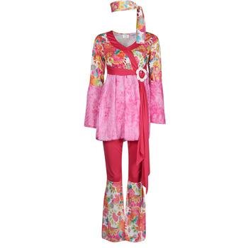 衣服 女士 角色扮演 Fun Costumes COSTUME ADULTE HAPPY DIVA 多彩