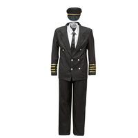 衣服 男士 角色扮演 Fun Costumes COSTUME ADULTE PILOTE 多彩