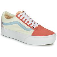 鞋子 女士 球鞋基本款 Vans 范斯 OLD SKOOL PLATFORM 白色 / 玫瑰色
