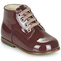 鞋子 女孩 高帮鞋 Little Mary MILOTO 波尔多红