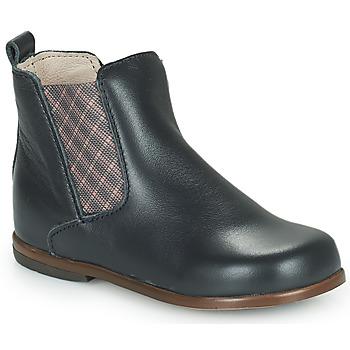鞋子 女孩 短筒靴 Little Mary ARON 蓝色