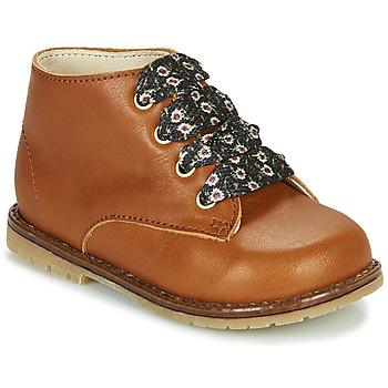 鞋子 女孩 高帮鞋 Little Mary JUDITE 棕色