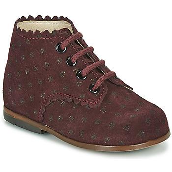 鞋子 女孩 高帮鞋 Little Mary VIVALDI 波尔多红