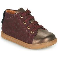 鞋子 女孩 球鞋基本款 Little Mary CLELIE 波尔多红