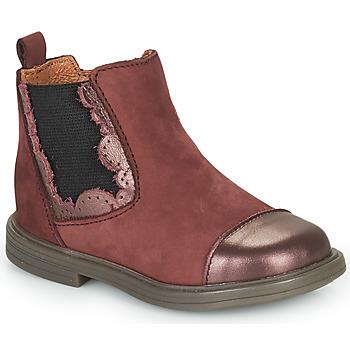 鞋子 女孩 短筒靴 Little Mary ELVIRE 波尔多红