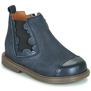 鞋子 女孩 短筒靴 Little Mary ELVIRE 蓝色