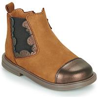 鞋子 女孩 短筒靴 Little Mary ELVIRE 棕色