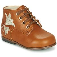 鞋子 女孩 高帮鞋 Little Mary MEIGE 棕色