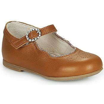 鞋子 女孩 平底鞋 Little Mary AUBERIE 棕色