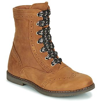 鞋子 女孩 短筒靴 Little Mary LYSIANE 棕色