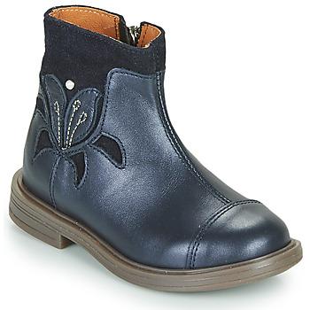 鞋子 女孩 短筒靴 Little Mary ELIANE 蓝色