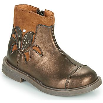 鞋子 女孩 短筒靴 Little Mary ELIANE 金色