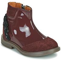鞋子 女孩 短筒靴 Little Mary ELSIE 红色