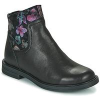 鞋子 女孩 短筒靴 Little Mary ELIETTE 黑色