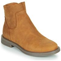 鞋子 女孩 短筒靴 Little Mary ELIETTE 棕色