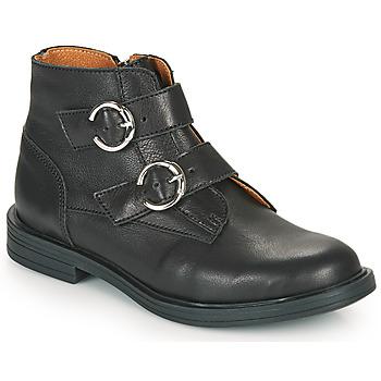鞋子 女孩 短筒靴 Little Mary EMILIENNE 黑色