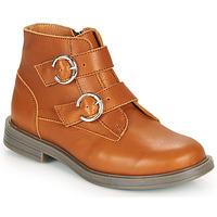 鞋子 女孩 短筒靴 Little Mary EMILIENNE 棕色