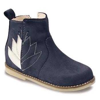 鞋子 女孩 短筒靴 Little Mary KARRY 蓝色