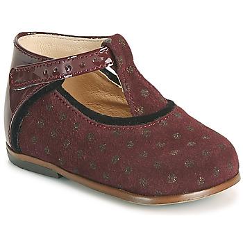 鞋子 女孩 高帮鞋 Little Mary BETHANY 波尔多红