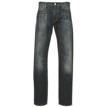 衣服 男士 直筒牛仔裤 Levi's 李维斯 504 REGULAR STRAIGHT FIT 蓝色 / Fonce