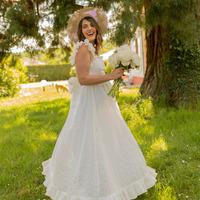 衣服 女士 长裙 Céleste AURORE 白色