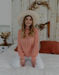 衣服 女士 女士上衣/罩衫 Céleste HIRONDELLE 玫瑰色