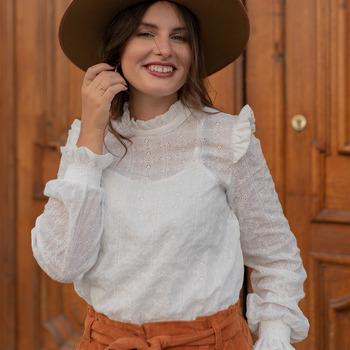 衣服 女士 女士上衣/罩衫 Céleste HIRONDELLE 白色