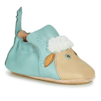 鞋子 儿童 拖鞋 Easy Peasy BLUBLU MOUTON 蓝色