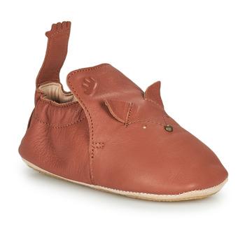 鞋子 儿童 拖鞋 Easy Peasy BLUBLU RENARD 棕色