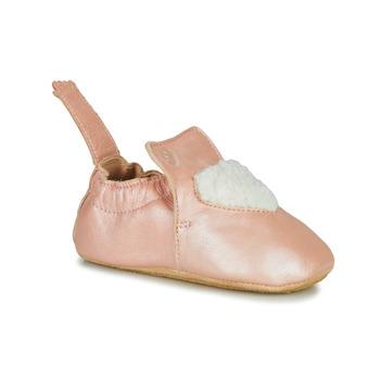 鞋子 女孩 拖鞋 Easy Peasy BLUBLU COEUR 玫瑰色