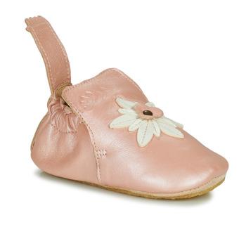 鞋子 女孩 拖鞋 Easy Peasy BLUBLU EDELWEISS 玫瑰色