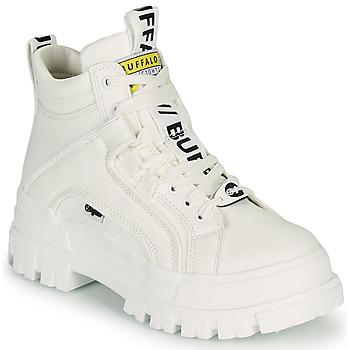 鞋子 女士 短筒靴 Buffalo ASPHA NC MID 白色