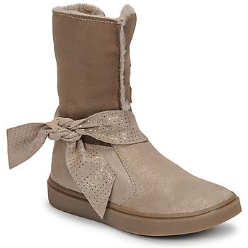 鞋子 女孩 都市靴 GBB EVELINA 米色