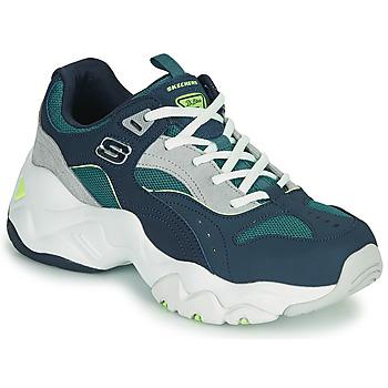 鞋子 女士 球鞋基本款 Skechers 斯凯奇 D'LITES 3.0/OCEAN CLOUD 海蓝色