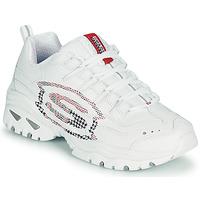 鞋子 女士 球鞋基本款 Skechers 斯凯奇 ENERGY/SKY VISION 白色
