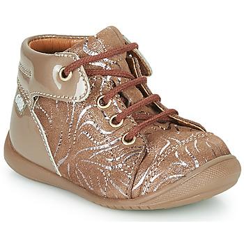 鞋子 女孩 高帮鞋 GBB OLSA 米色