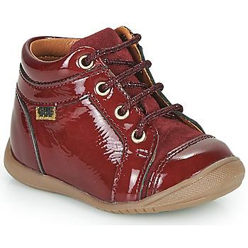 鞋子 女孩 高帮鞋 GBB OMANE 波尔多红