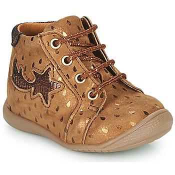 鞋子 女孩 高帮鞋 GBB POMME 棕色